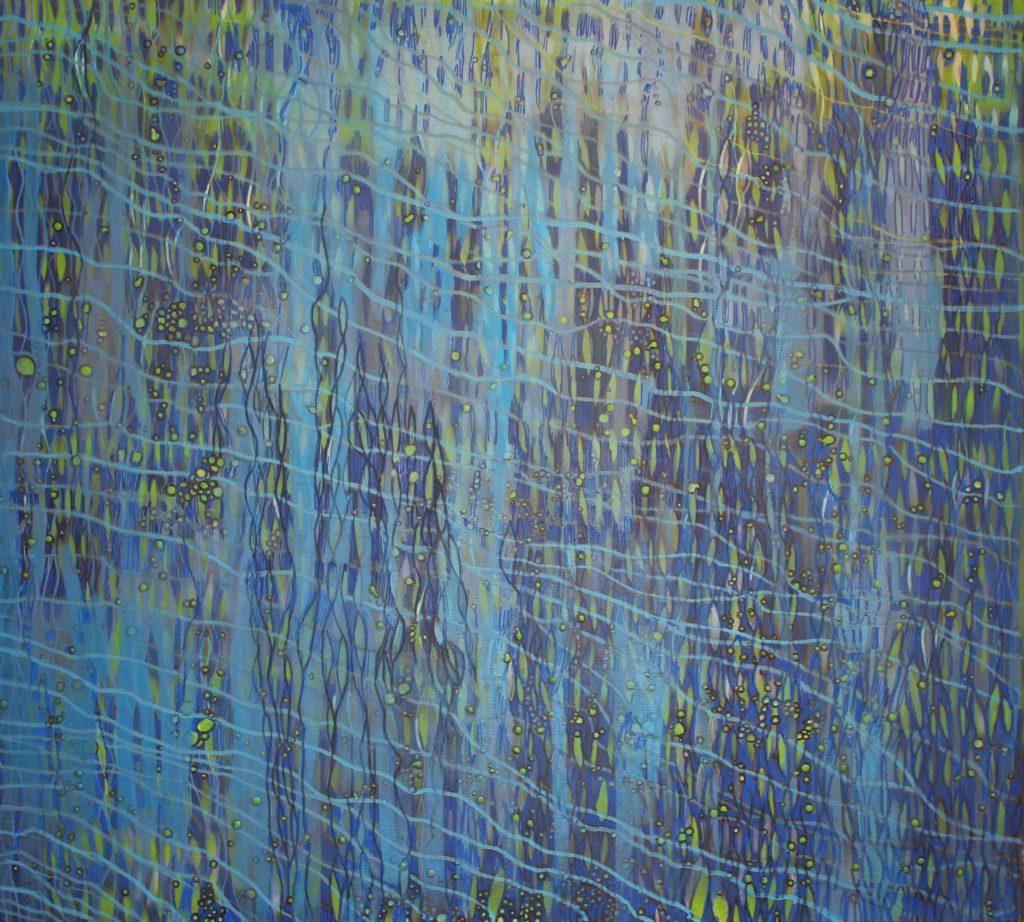 Staw I 2015, akryl na płótnie 90 x 100 cm
